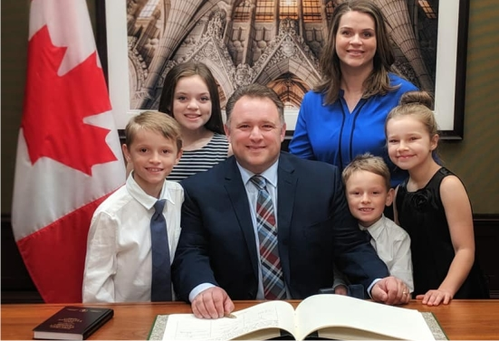 Rob Moore MP Fundy Royal _ About